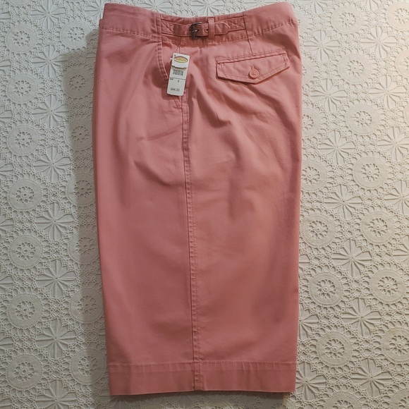 Talbots Pants - NWT Coral Pink Below-Knee Shorts, Talbot's, Sz 8